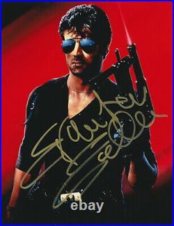 Sylvester Stallone COBRA Autograph AUTOGRAMM with COA