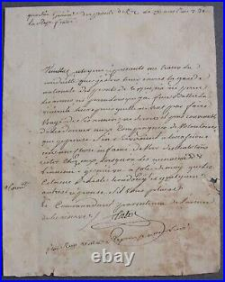 Talot. Guerre Vendée. Garde Nationale & Habitan rester chez eux face à Ennemi. 1793