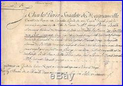 Turgot Lettre Signée Avec Apostille Autographe (1776 / Versailles)