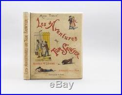 Twain Les Aventures De Tom Sawyer 1886 Éd. Originale De La Traduction Française