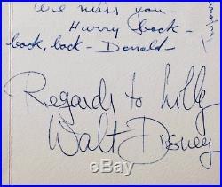 Un mot d'adieu de Walt Disney