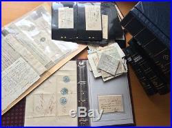 VENTE PRINTEMPS 2#LOT161 GIGA collection lettres Duché Savoie marques postales