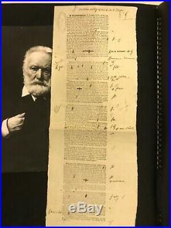 Victor Hugo / Épreuves Corrigées D'un Discours (1847) / Chambre Des Pairs