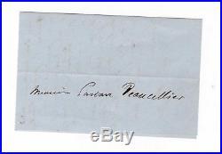 Victor Hugo / Lettre Autographe (1863) / Belle Lettre / Jeune Génération
