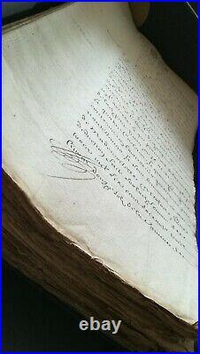 Vieux papiers actes notariés testaments héritages région Paris 17 éme siécle