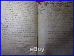 XVIe siècle / LOT DE LETTRES ET DOCUMENTS SUR VELIN