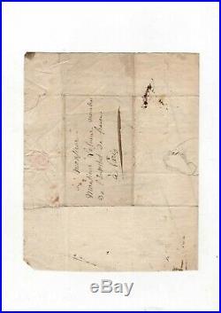 (hector Berlioz) / Lettre Autographe De Lesueur À Louis Berlioz (1830) / Avenir