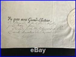 (napoléon) / Décret Impérial Signé (1806) Par Cambacérès Et Nompère De Champagny