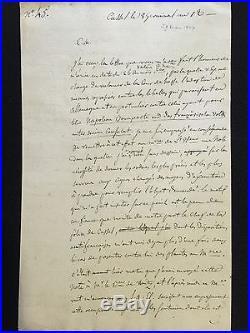 (napoléon / Duc D'enghien) / Rapport D'edouard Bignon À Talleyrand (mars 1804)